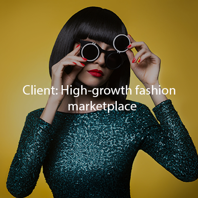 High-growth fashion marketplace